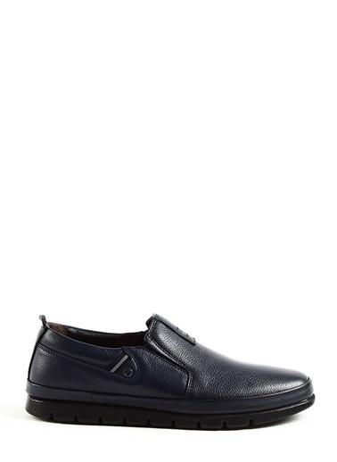 Tripy Deri Ayakkabı Lacivert